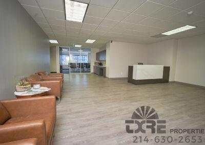 reception area at 1250 W Mockingbird Ln