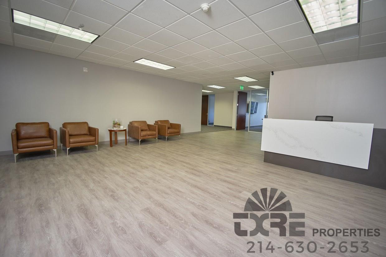 reception area inside 1250 W Mockingbird Ln